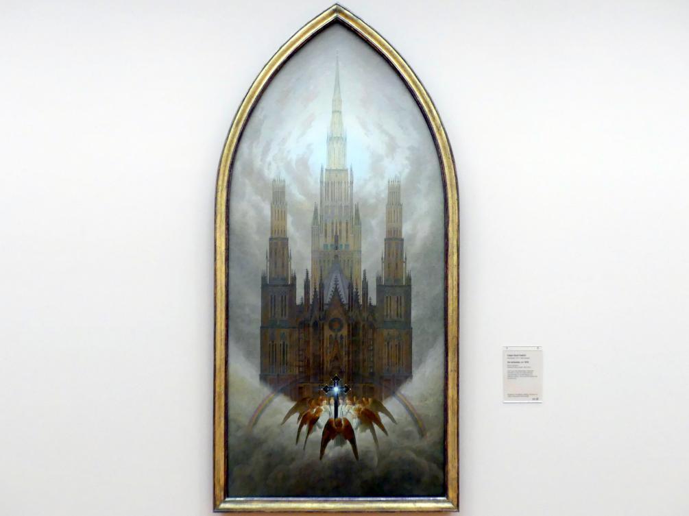 Caspar David Friedrich: Die Kathedrale, um 1818