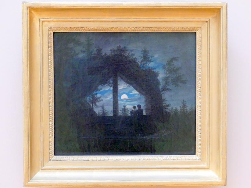 Carl Gustav Carus: Fenster am Oybin, um 1825 - 1828
