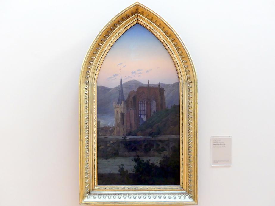 Carl Gustav Carus: Bacharach am Rhein, 1836