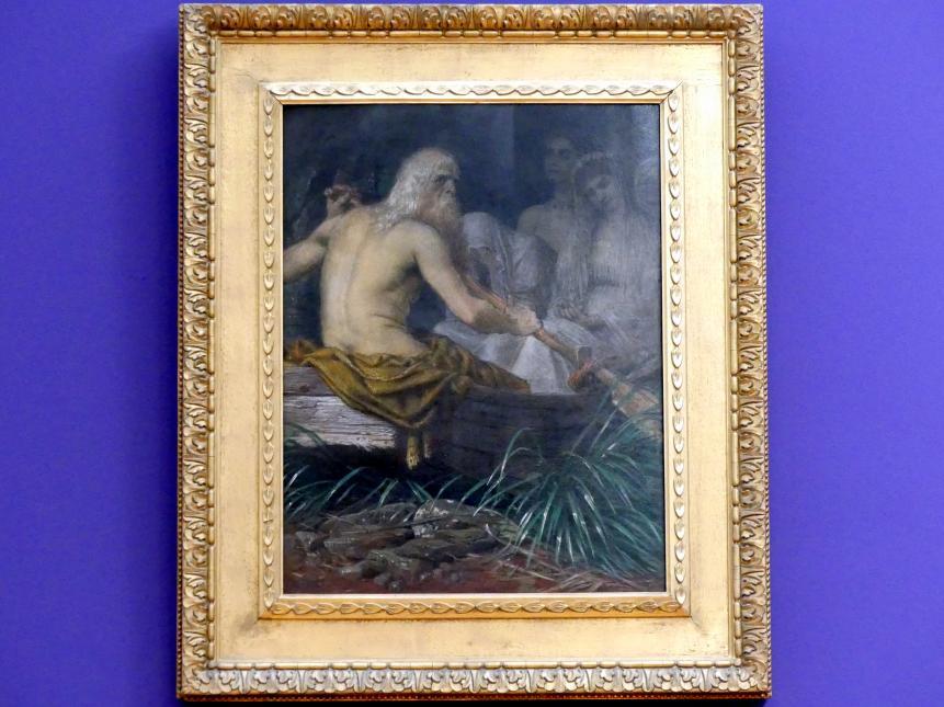 Arnold Böcklin: Charon, 1876