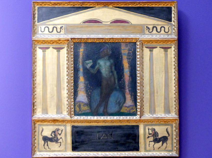 Franz von Stuck: Pan, 1908