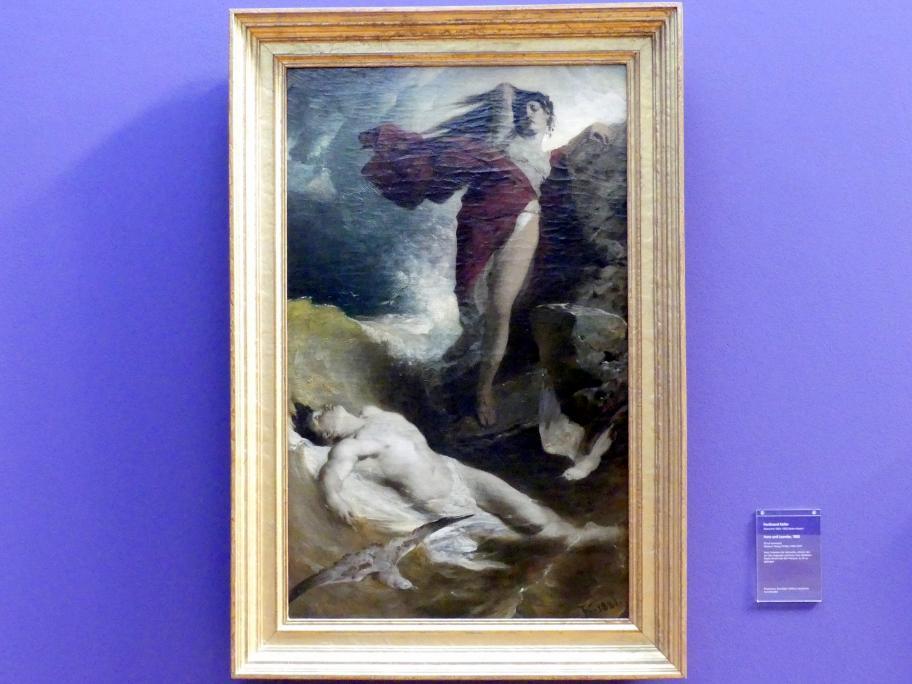 Ferdinand Keller: Hero und Leander, 1880