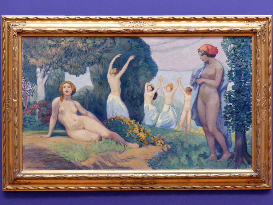 Ludwig von Hofmann: Zur Sommerzeit, um 1910