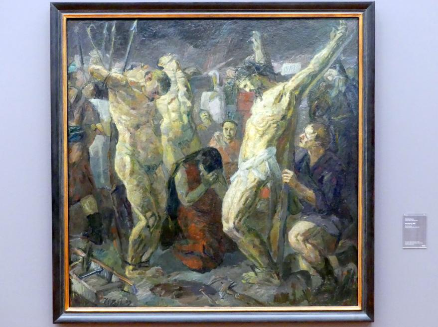 Max Beckmann: Kreuzigung, 1909