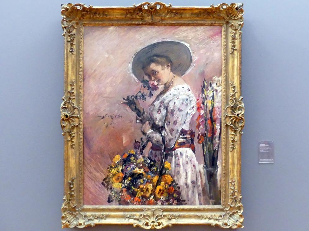 Lovis Corinth: Bildnis der Tochter des Dichters Max Halbe, Flora, 1919