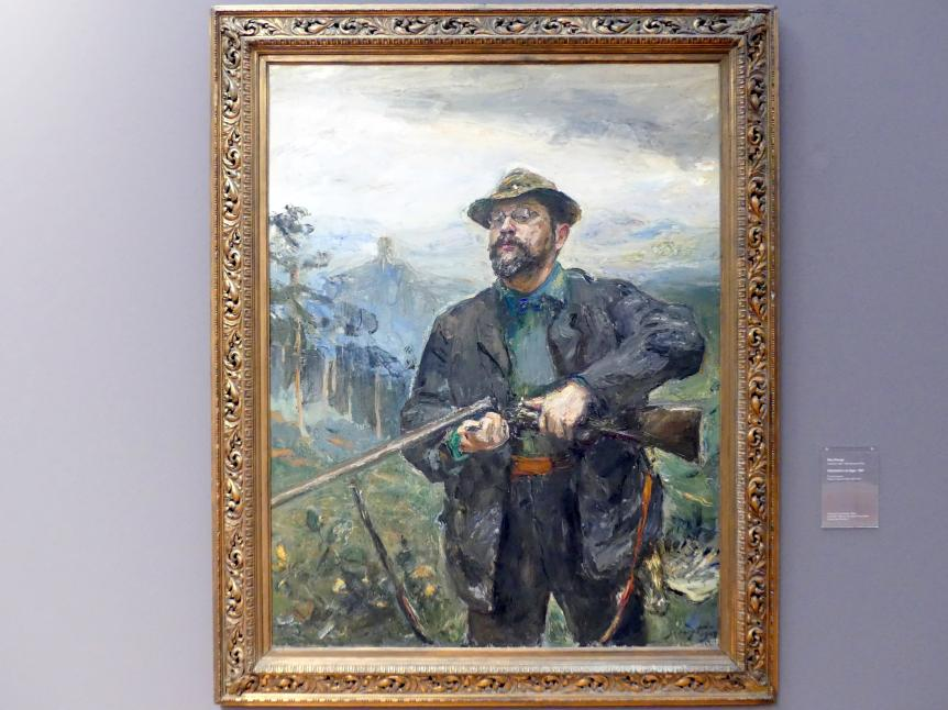 Max Slevogt: Selbstbildnis als Jäger, 1907