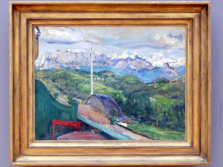 Max Slevogt: Tiroler Landschaft, 1914