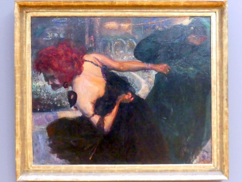 Max Slevogt: Totentanz / Maskenball, 1896