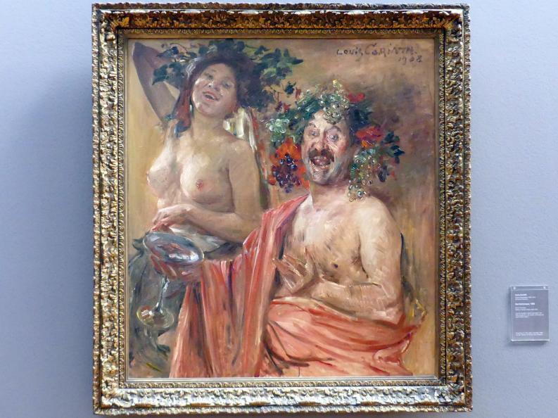 Lovis Corinth: Bacchantenpaar, 1908