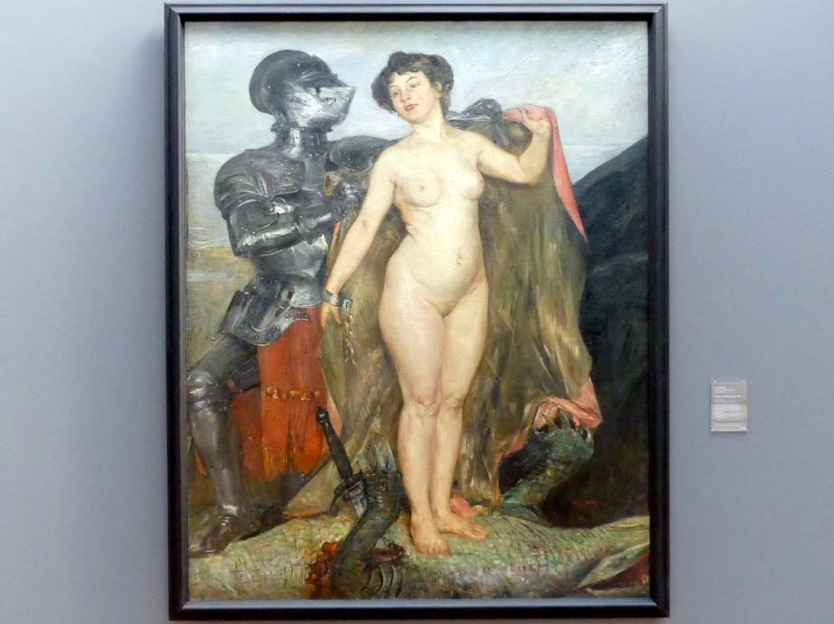 Lovis Corinth: Perseus und Andromeda, 1900