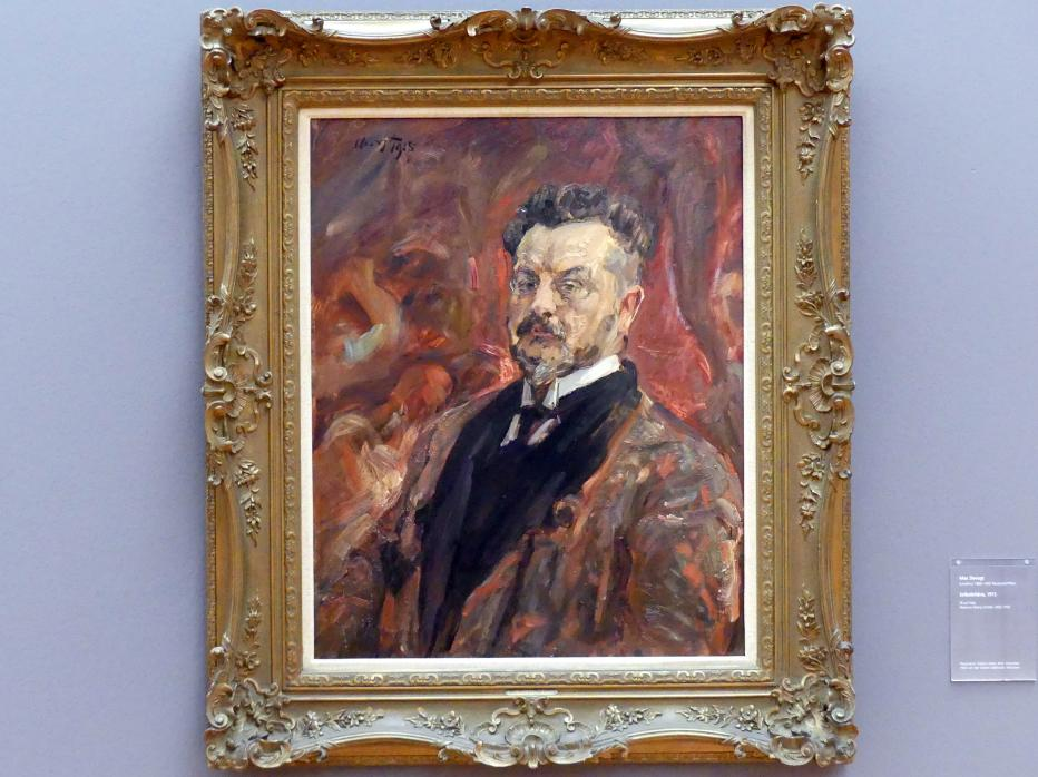 Max Slevogt: Selbstbildnis, 1915