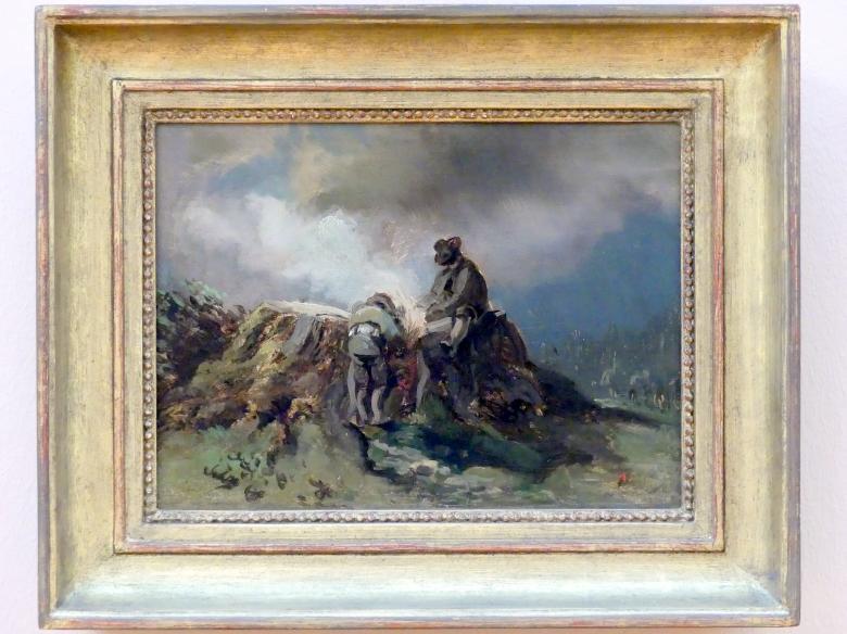Adolf Heinrich Lier: Holzfäller, Um 1855