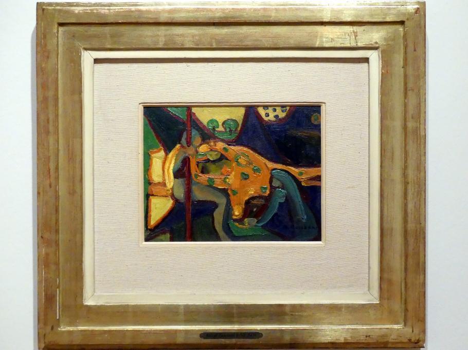 Adolf Hölzel: Figurenszene (Biblische Szene), 1912