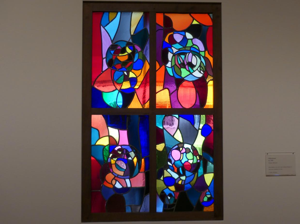 Adolf Hölzel: Pelikanfenster, Um 1930