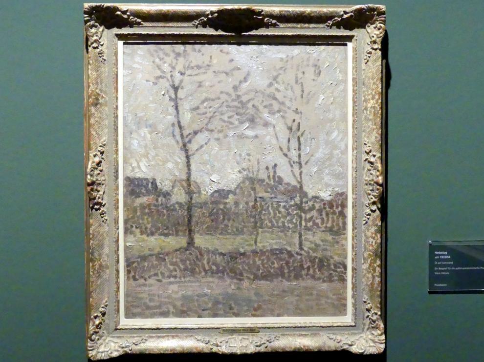 Adolf Hölzel: Herbsttag, um 1903 - 1904