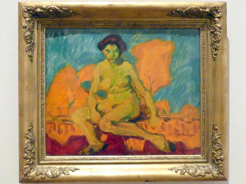 Adolf Hölzel: Weiblicher Akt, Um 1912