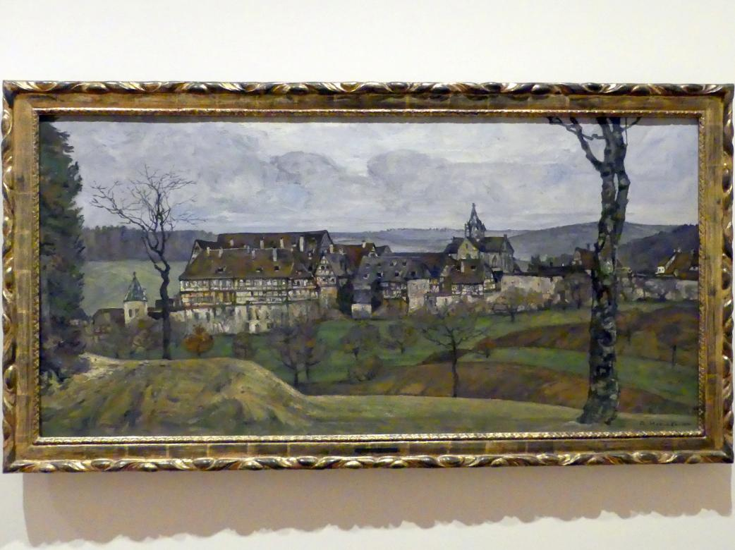 Adolf Hölzel: Bebenhausen, 1907