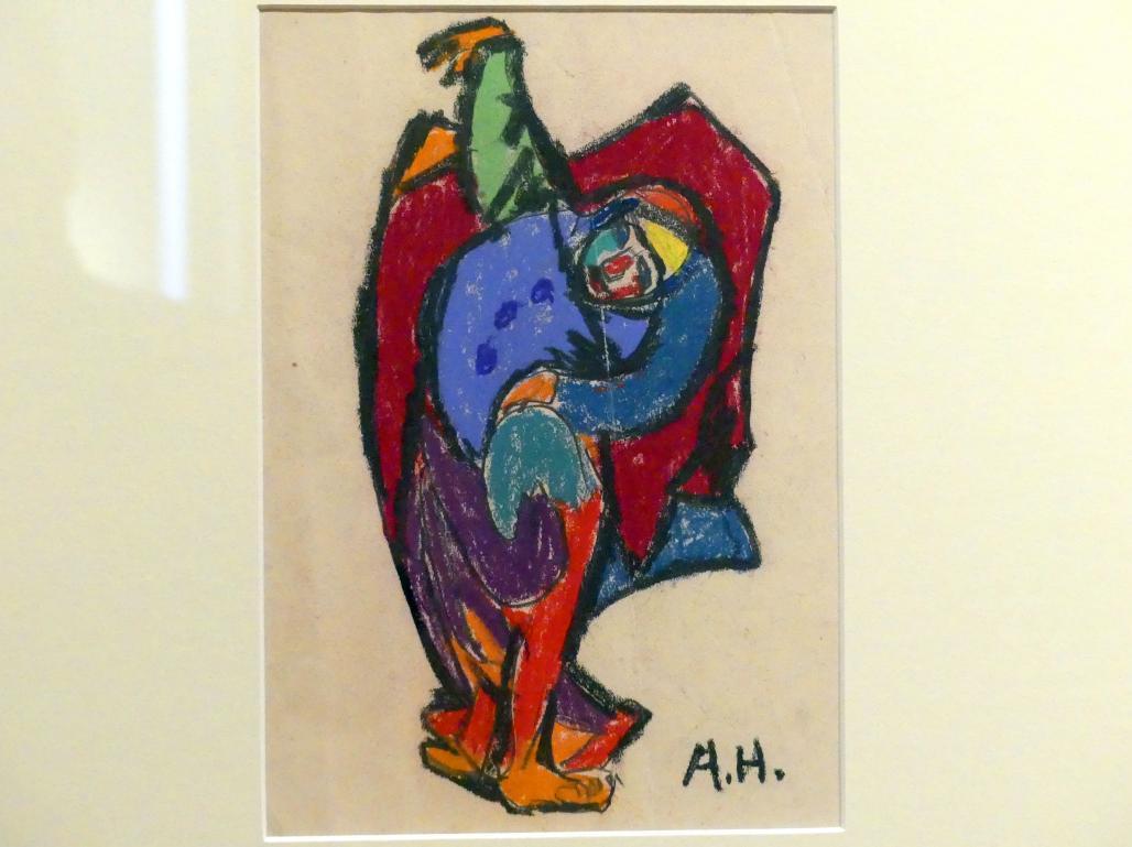 Adolf Hölzel: o. T. (Harlekin), um 1925