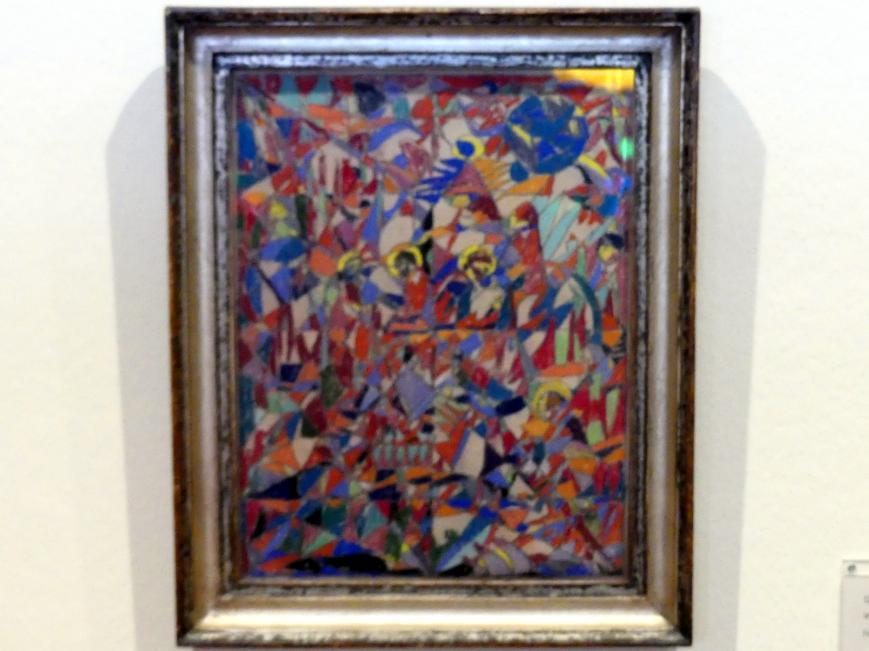 Adolf Hölzel: Geometrische Komposition, um 1925