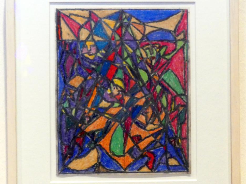 Adolf Hölzel: Farbkomposition Prisma, Um 1925