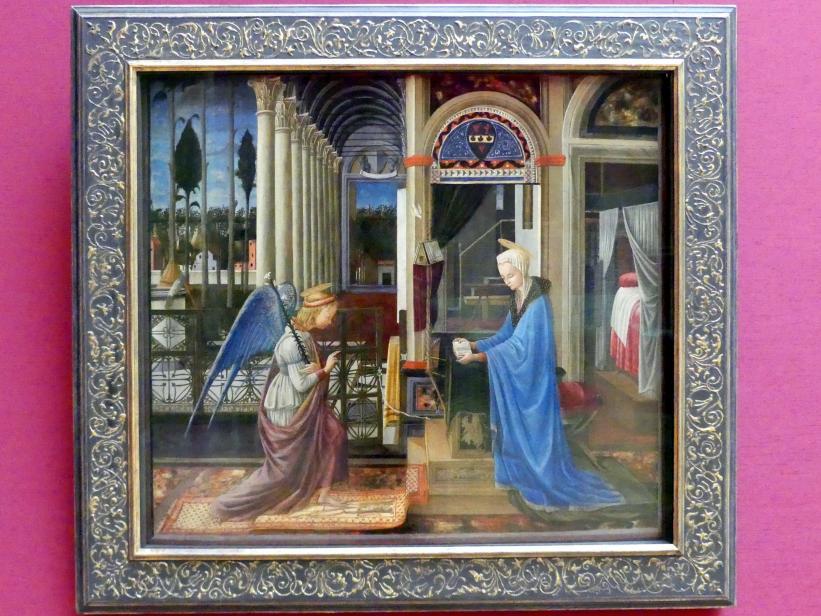 Fra Carnevale: Verkündigung Mariae, Um 1445