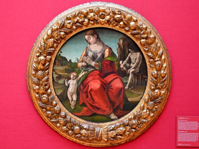Luca Signorelli: Maria mit Kind, um 1494 - 1496