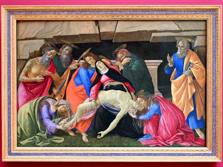 Sandro Botticelli: Beweinung Christi, Um 1490 - 1495