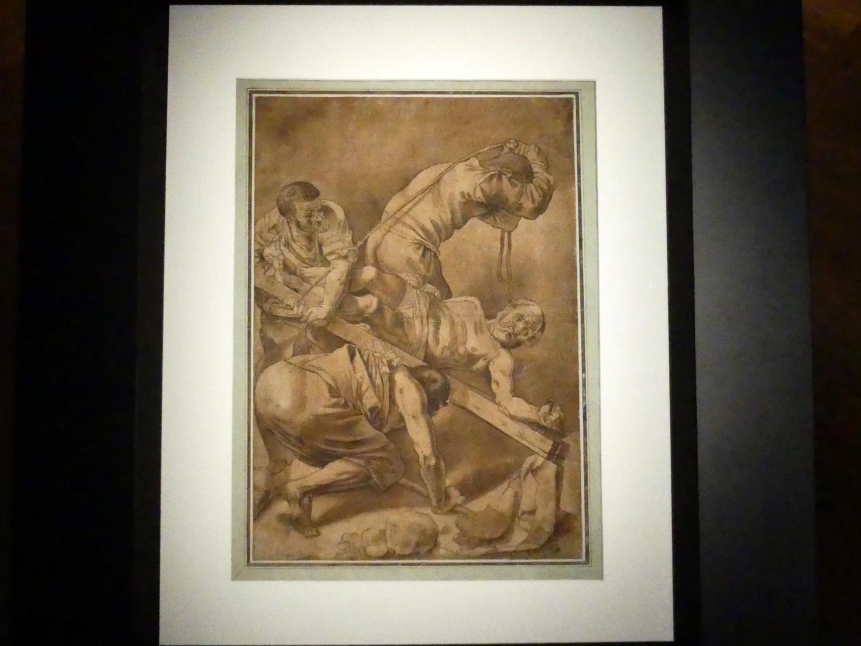 Gerrit van Honthorst (Gerard van Honthorst): Die Kreuzigung Petri, 1616
