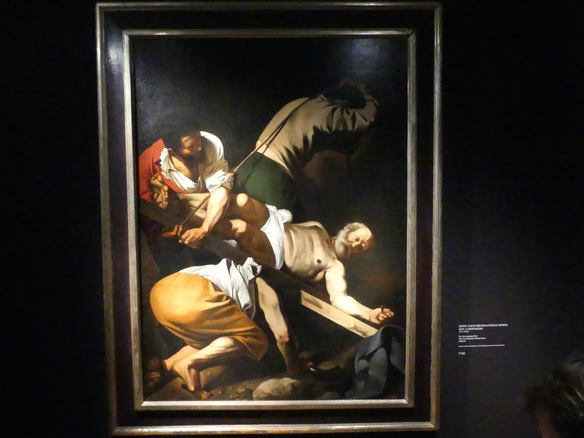 Michelangelo Merisi da Caravaggio (Kopie): Die Kreuzigung Petri, 1602 - 1605