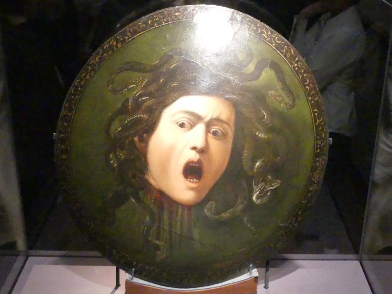 Michelangelo Merisi da Caravaggio: Medusa, 1597