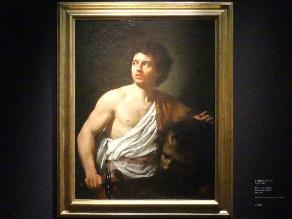 Simon Vouet: David und Goliath, Um 1621