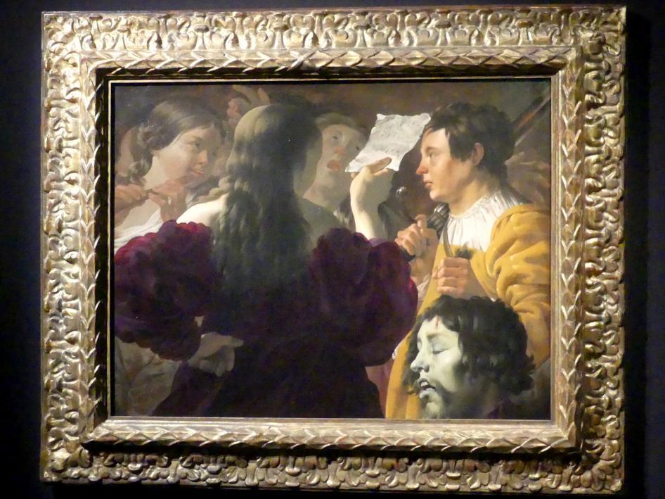 Hendrick ter Brugghen: David, gepriesen von den Frauen Israels, 1623