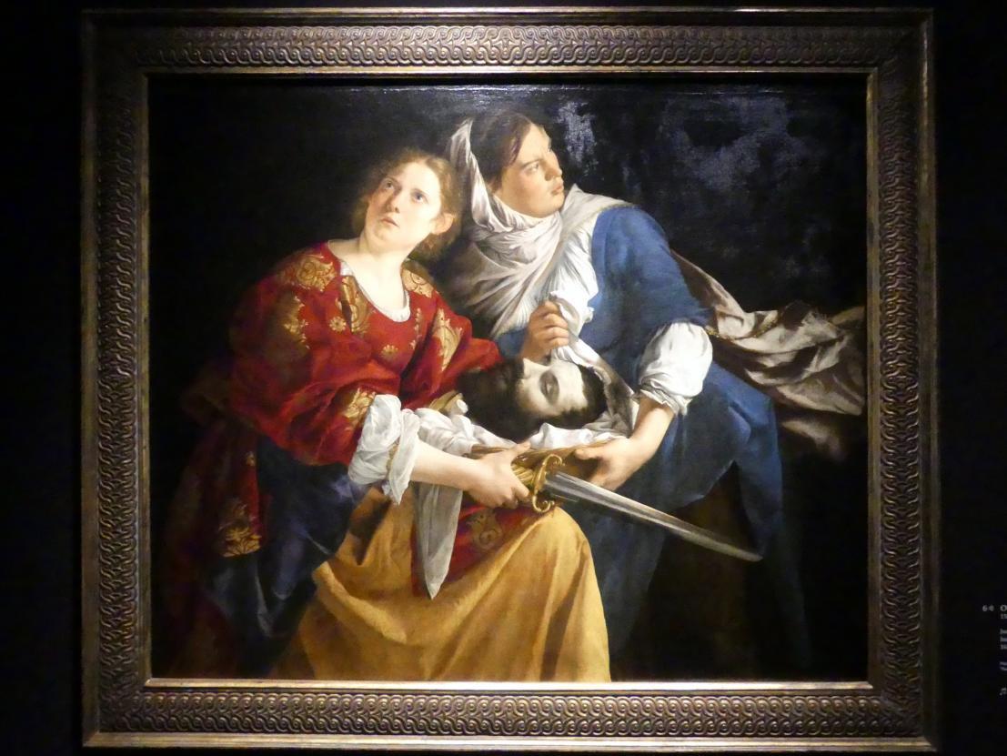 Orazio Gentileschi: Judith und die Magd mit dem Haupt des Holofernes, 1621 - 1624