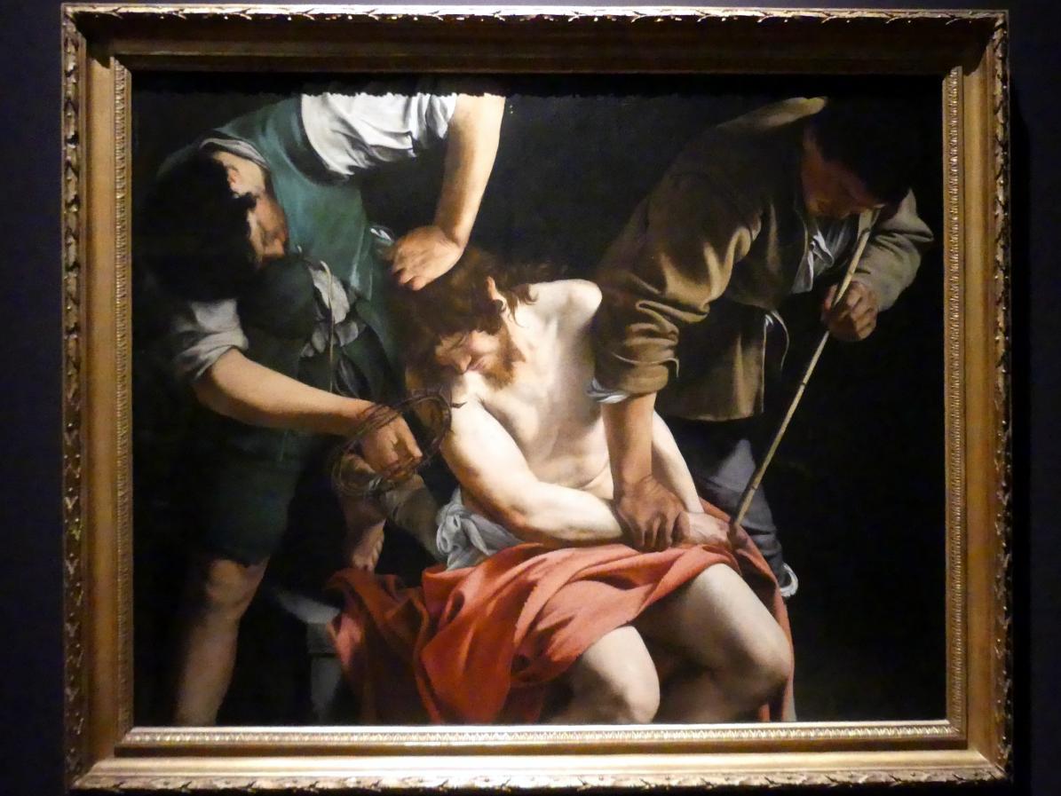 Orazio Gentileschi: Die Dornenkrönung Christi, Um 1612 - 1615