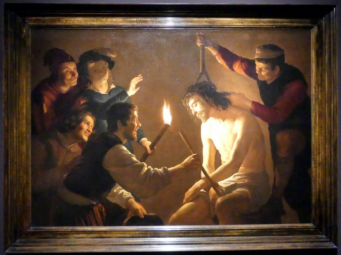 Gerrit van Honthorst (Gerard van Honthorst): Die Verspottung Christi, Um 1617