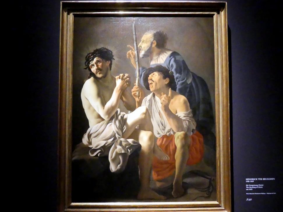 Hendrick ter Brugghen: Die Verspottung Christi, Um 1625