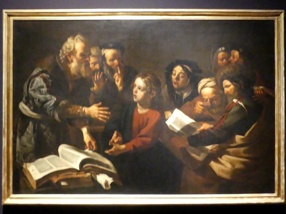 Dirck van Baburen: Christus unter den Schriftgelehrten, um 1618