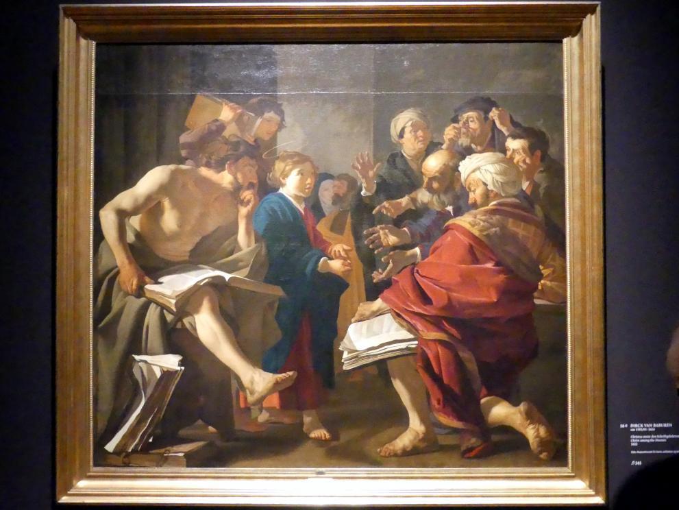 Dirck van Baburen: Christus unter den Schriftgelehrten, 1622