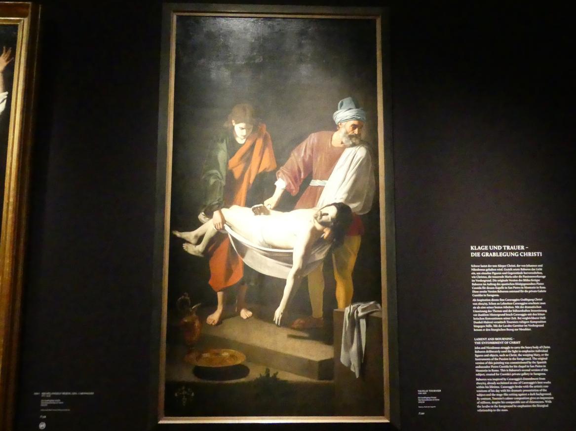Nicolas Tournier: Die Grablegung Christi, 1635 - 1638, Bild 1/2