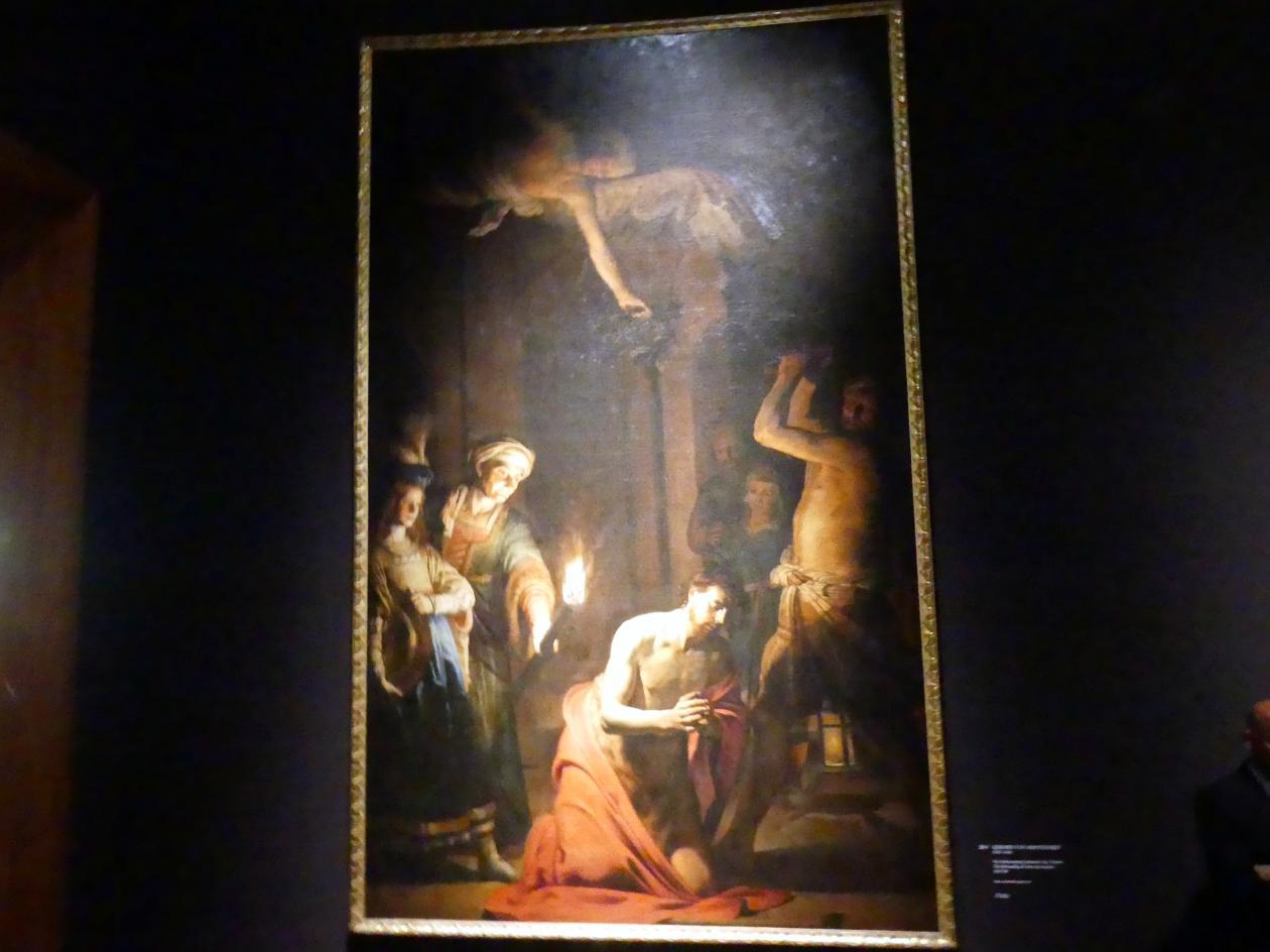 Gerrit van Honthorst (Gerard van Honthorst): Die Enthauptung Johannes des Täufers, 1617 - 1618