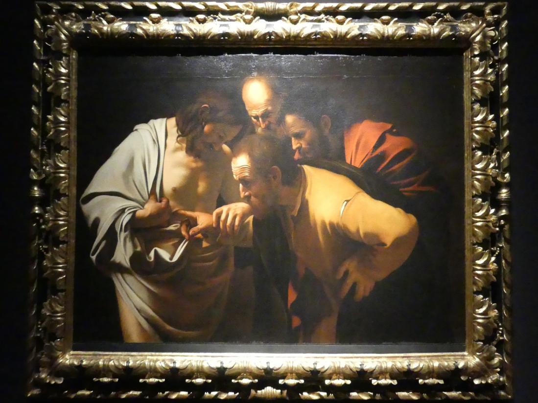 Michelangelo Merisi da Caravaggio (Kopie): Der ungläubige Thomas, um 1600 - 1625