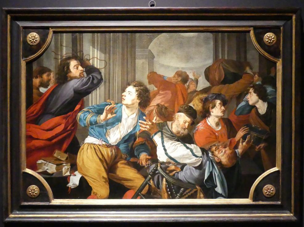 Theodoor Rombouts: Die Vertreibung der Geldwechsler aus dem Tempel, 1628 - 1637