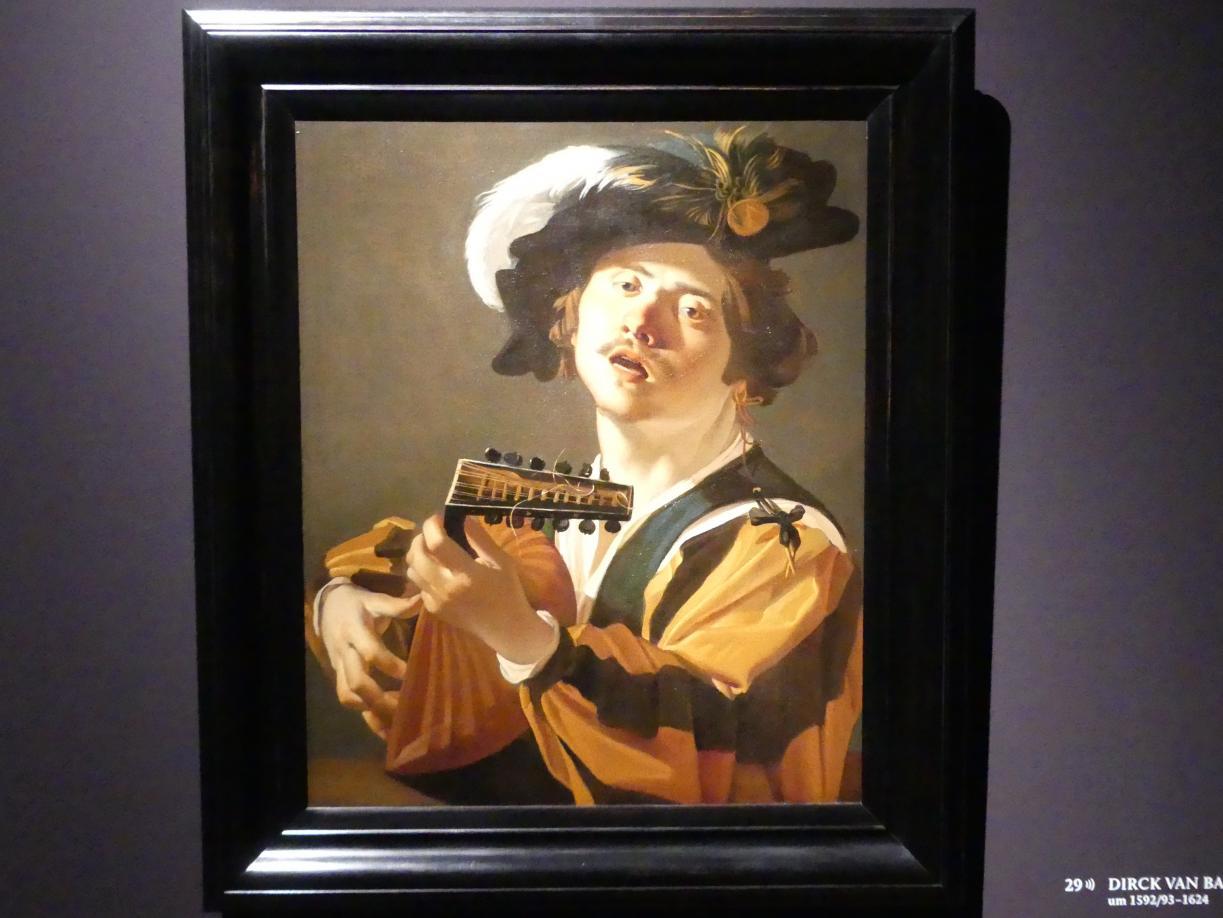 Dirck van Baburen: Der Lautenspieler, 1622
