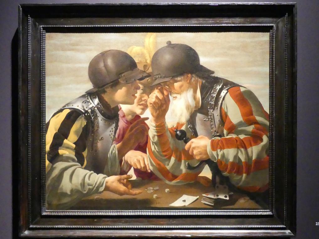 Hendrick ter Brugghen: Der Spieler, 1623