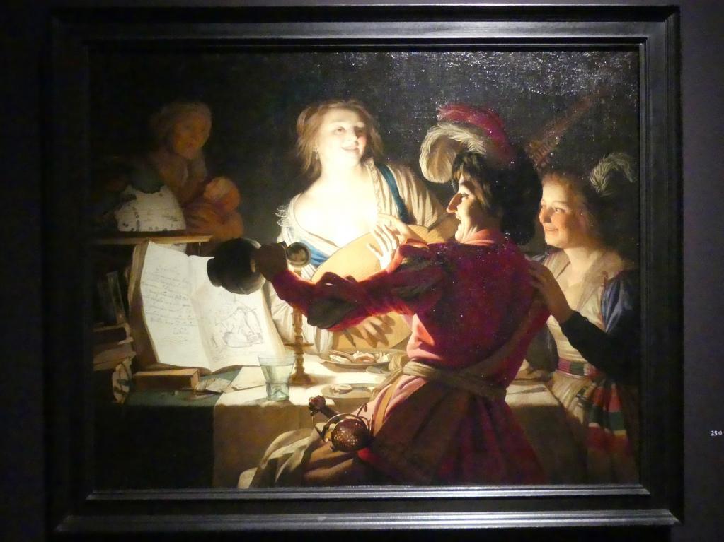 Gerrit van Honthorst (Gerard van Honthorst): Der liederliche Student, 1625
