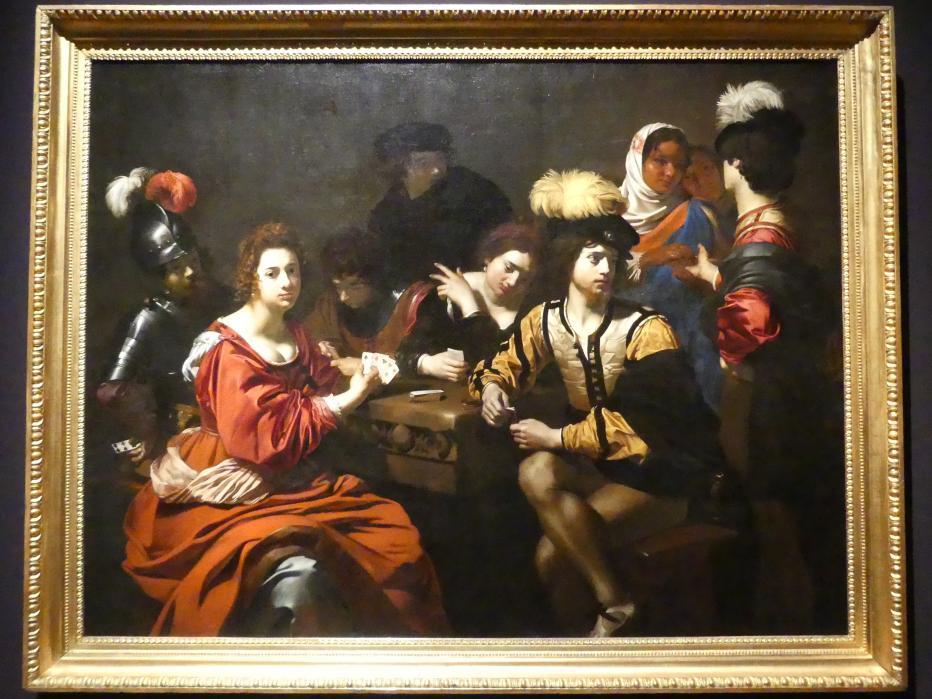 Nicolas Régnier (Niccolò Renieri): Kartenspieler und Wahrsagerin, um 1623 - 1625