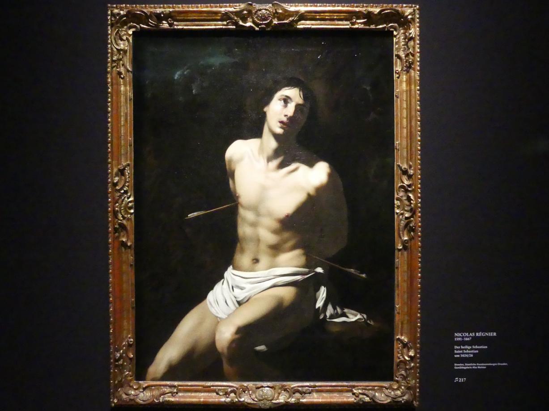 Nicolas Régnier (Niccolò Renieri): Der heilige Sebastian, Um 1624 - 1626