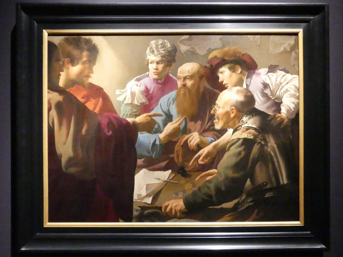 Hendrick ter Brugghen: Die Berufung des Matthäus, 1621