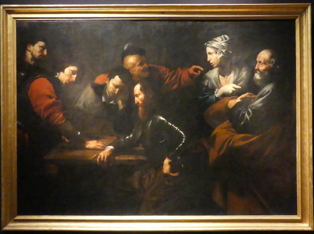Jusepe de Ribera: Die Verleugnung Petri, um 1615 - 1616