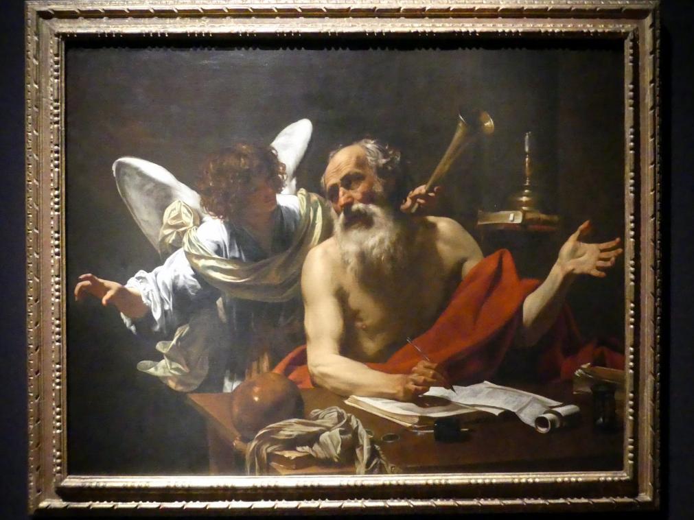 Simon Vouet: Der heilige Hieronymus mit dem Engel, um 1620 - 1621